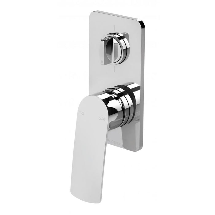 Mekko Shower/Bath Mixer with Diverter (Chrome)
