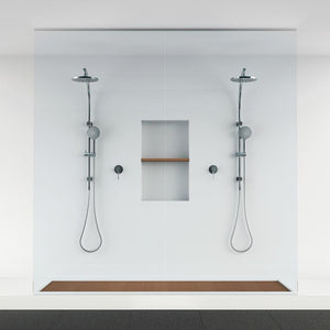 Vivid Twin Shower (Brushed Nickel)