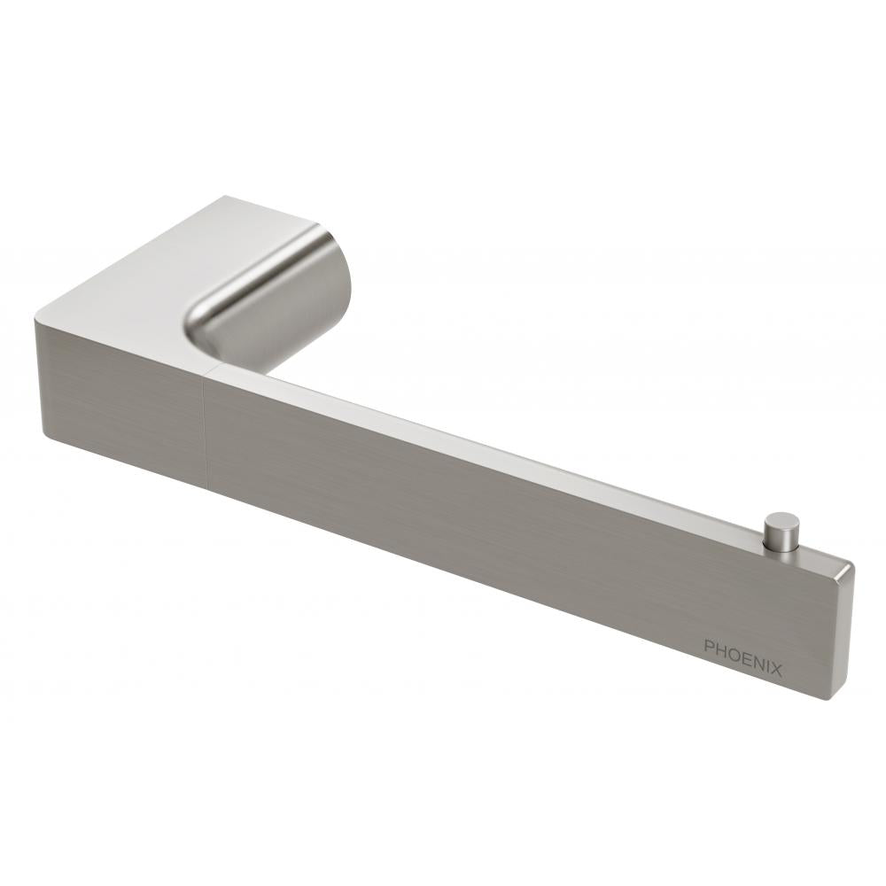 Gloss Toilet Roll Holder (Brushed Nickel)