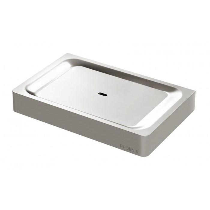 Gloss Soap Dish (Brushed Nickel)