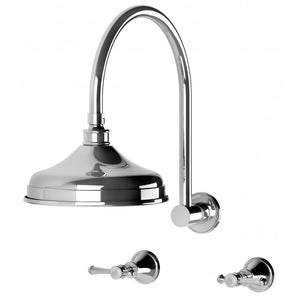 Nostalgia Lever Shower Set (Chrome)