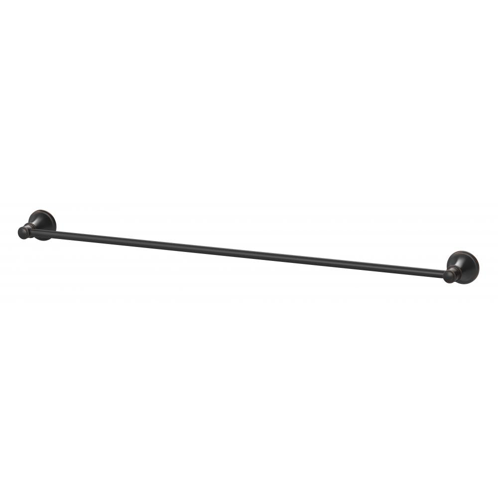 Nostalgia Single Towel Rail 760mm (Antique Black)