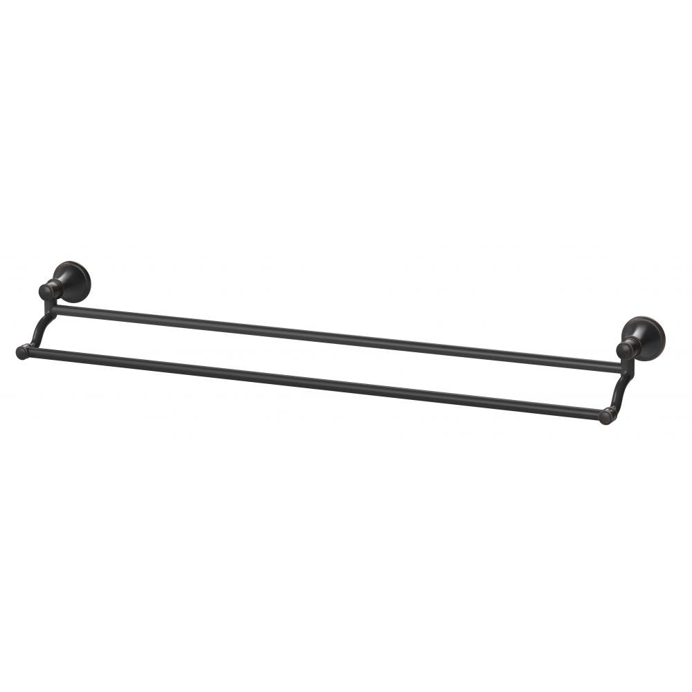 Nostalgia Double Towel Rail 760mm (Antique Black)