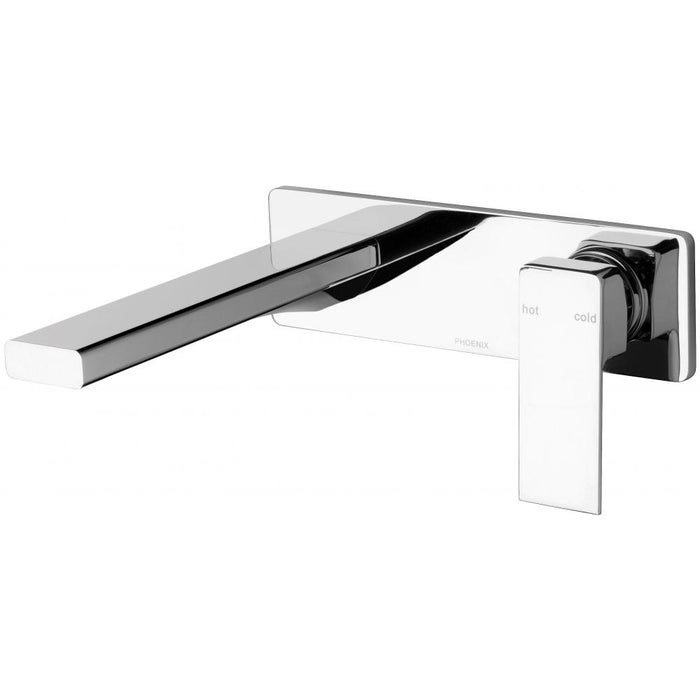Radii Wall Basin Set 200mm (Chrome)