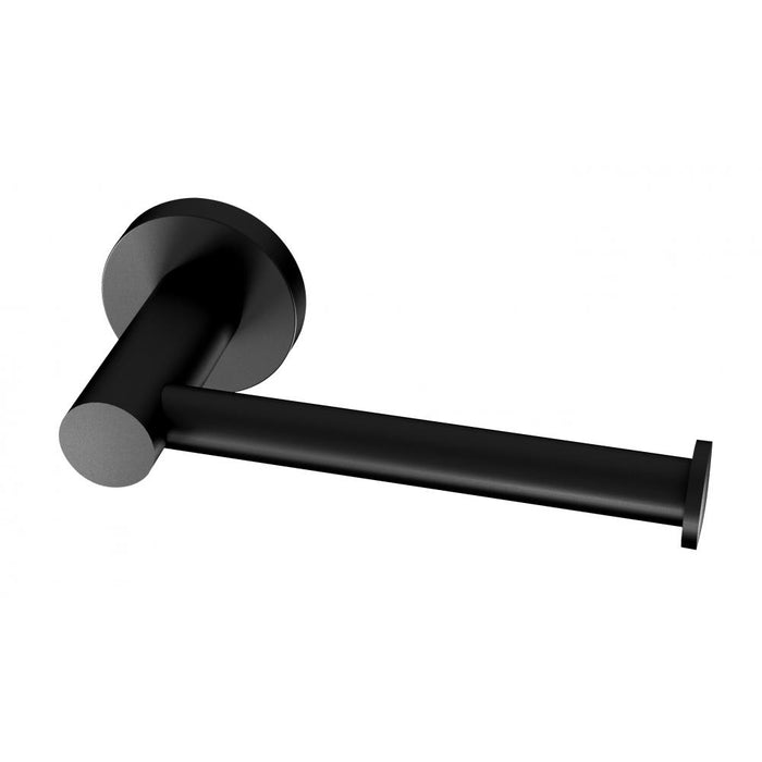 Radii Toilet Roll Holder (Round) (Matte Black)