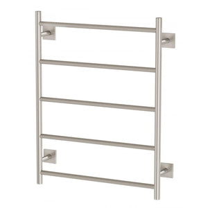 Radii Heated Towel Ladder 550 x 740mm (Square) (Brushed Nickel)