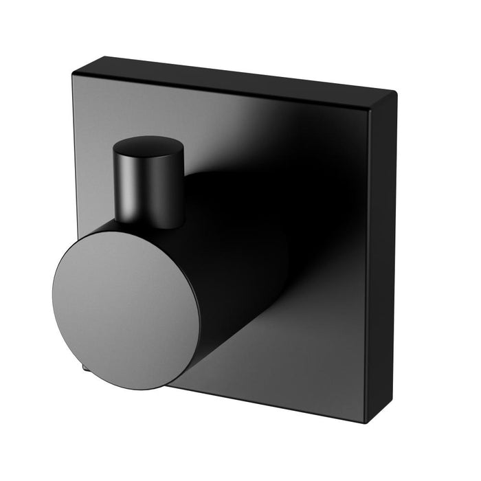 Radii Robe Hook (Square) (Matte Black)