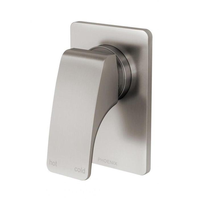 Rush Shower / Wall Mixer (Brushed Nickel)