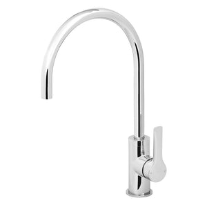 Phoenix Tapware Subi Side Lever Sink Mixer 200mm Gooseneck (Chrome) 10573103C