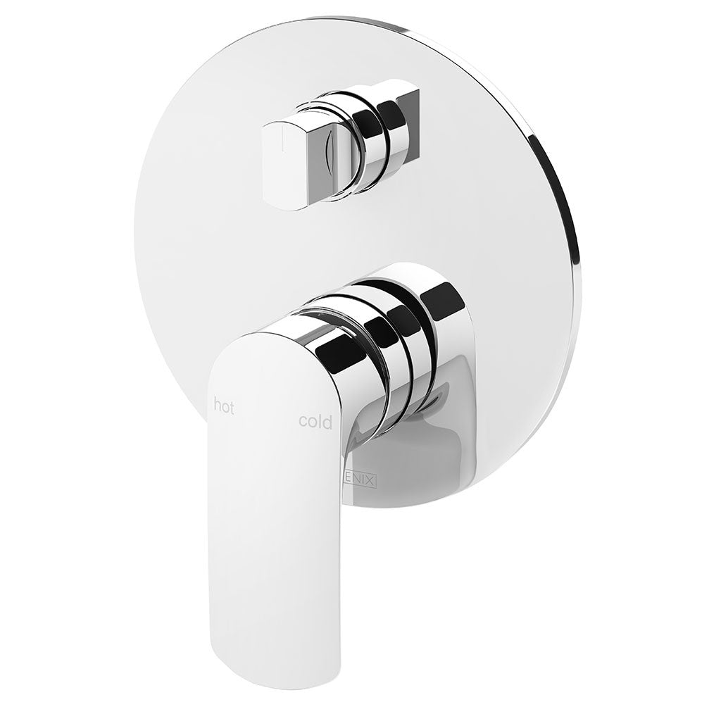 Phoenix Tapware Subi Shower / Bath Diverter Mixer (Chrome) 10579000C
