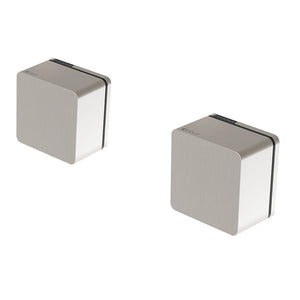 Phoenix Tapware Alia Wall Top Assemblies (Brushed Nickel) 110-0600-40