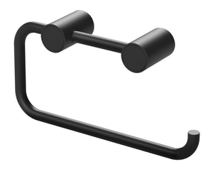 Vivid Slimline Toilet Roll Holder (Matte Black)