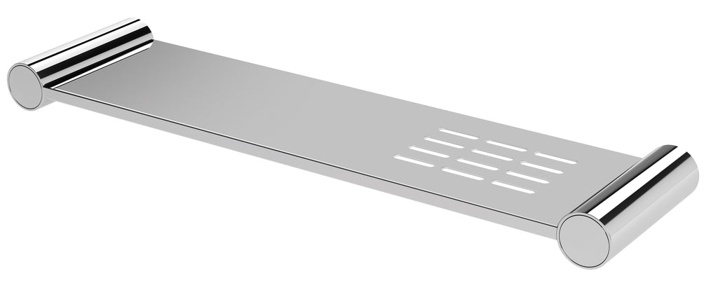 Vivid Slimline Metal Shelf (Chrome)