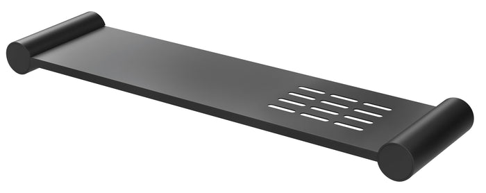Vivid Slimline Metal Shelf (Matte Black)