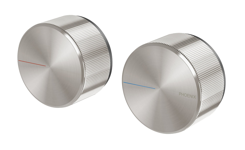 Axia Wall Top Assemblies Extended Spindles (Brushed Nickel)