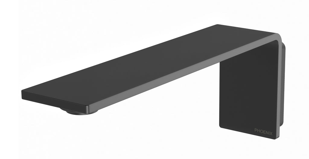 Axia Basin/Bath Outlet 200mm (Matte Black)