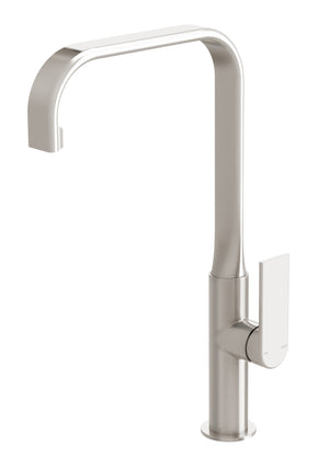 Teel Sink Mixer 200mm Squareline (Brushed Nickel)