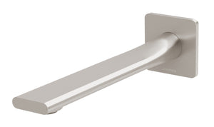 Teel Wall Bath Outlet 200mm (Brushed Nickel)
