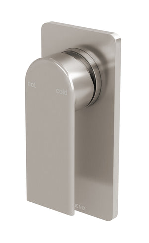 Teel Shower/Wall Mixer (Brushed Nickel)