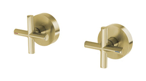 Vivid Slimline Plus Wall Top Assemblies (Brushed Gold)