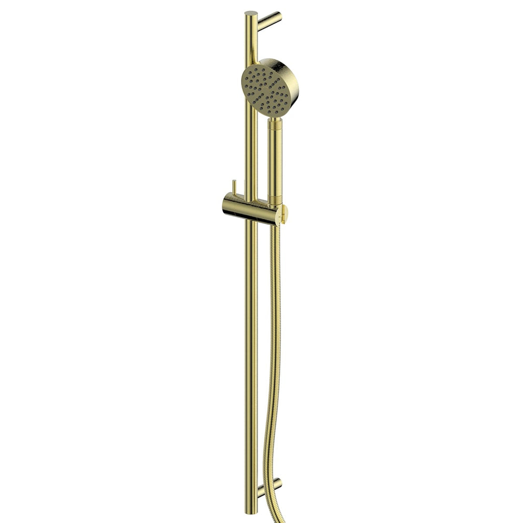 Textura Rail Shower (Brushed Brass)