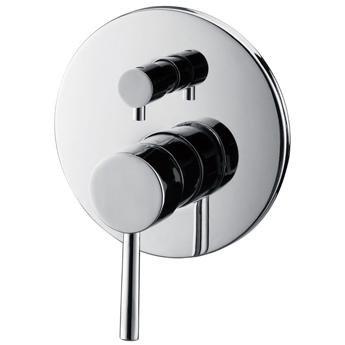 Isabella Wall Mixer with Diverter (Chrome)