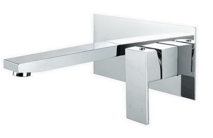 Jet Wall Mixer with Spout (Chrome)