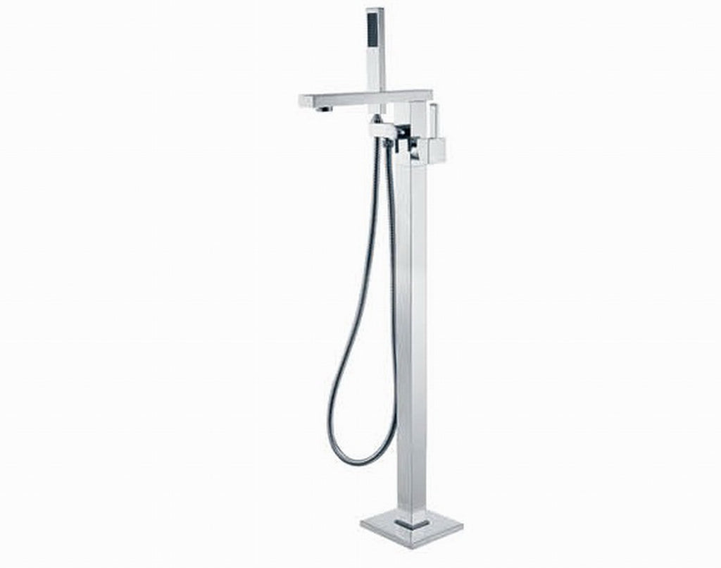 Fienza Jet Floor Mixer with Shower Head (Chrome) 217.113