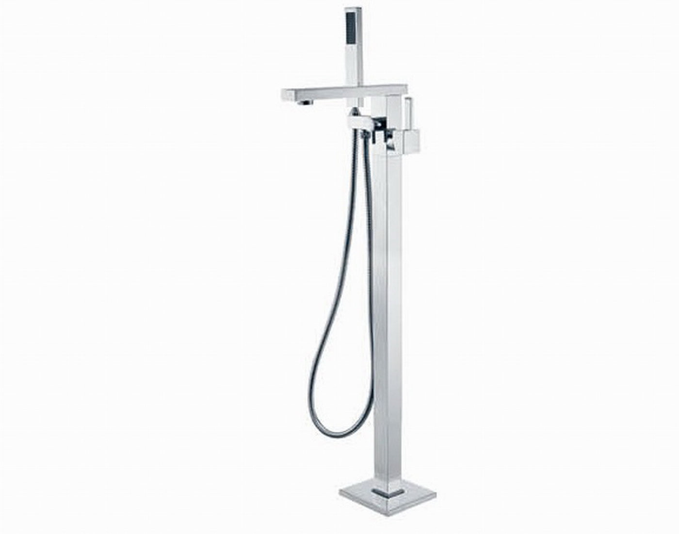 Jet Floor Mixer with Shower Head | Online Bathroomware