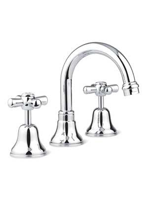 Faucet Strommen Cascade Basin Set (Cross) 30001.11.01