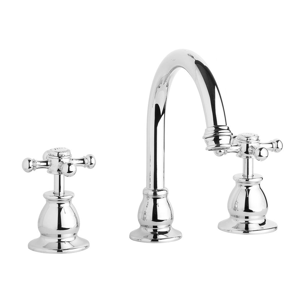 Phoenix Tapware Harmony Basin Set with Fixed Outlet (Chrome) 300CHR