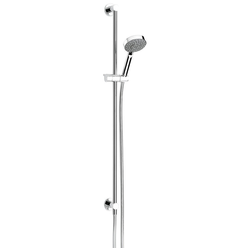 Pegasi Slide Shower, Inflow 900, 100disc Chrome