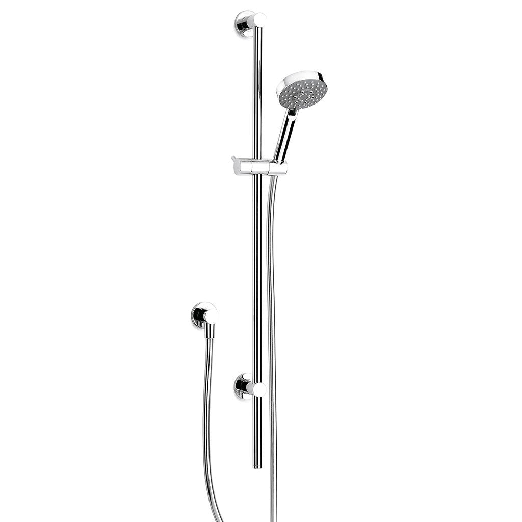 Pegasi Slide Shower, Adjust 900, 100disc Chrome