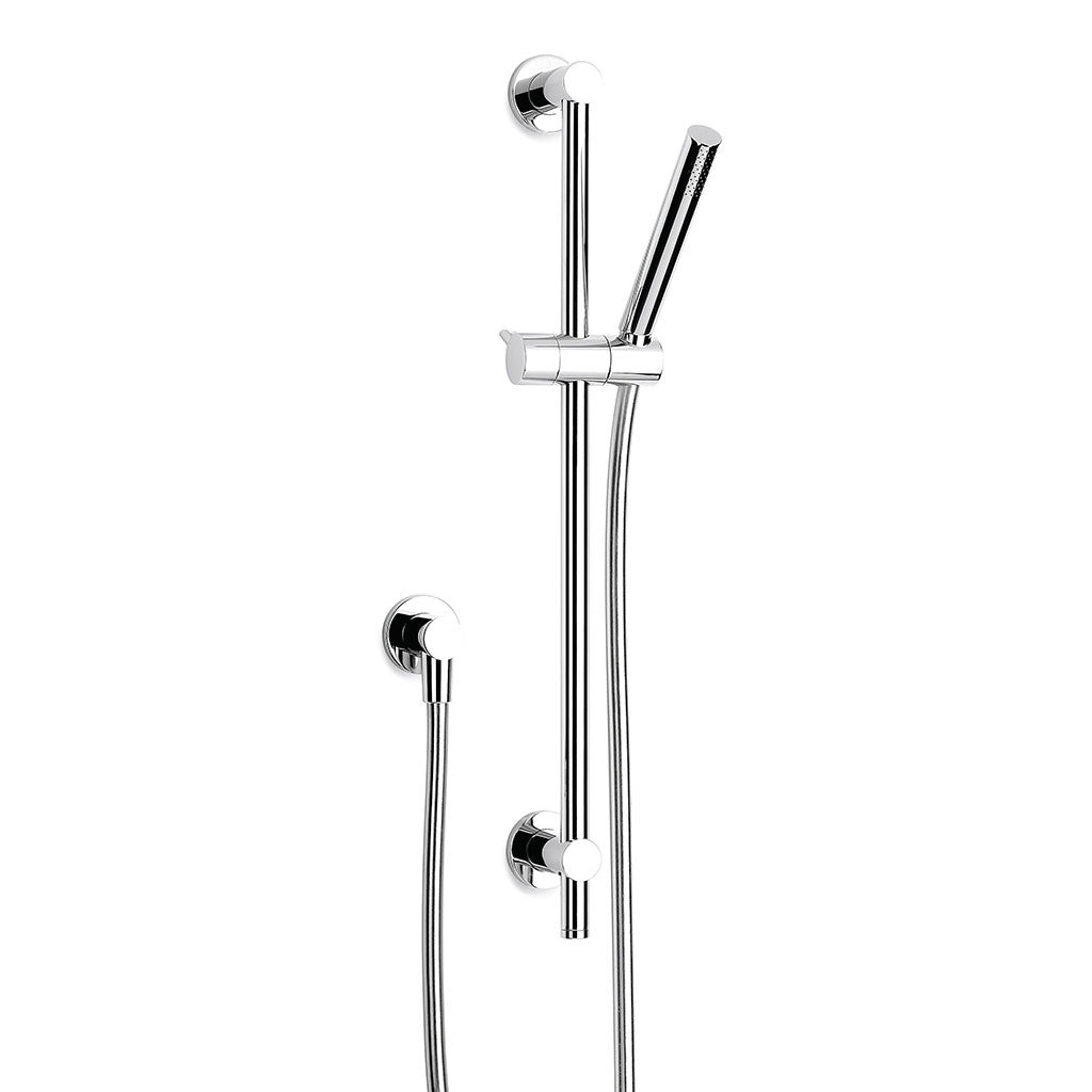 Pegasi Slide Shower, Adjust 600, Micro Chrome
