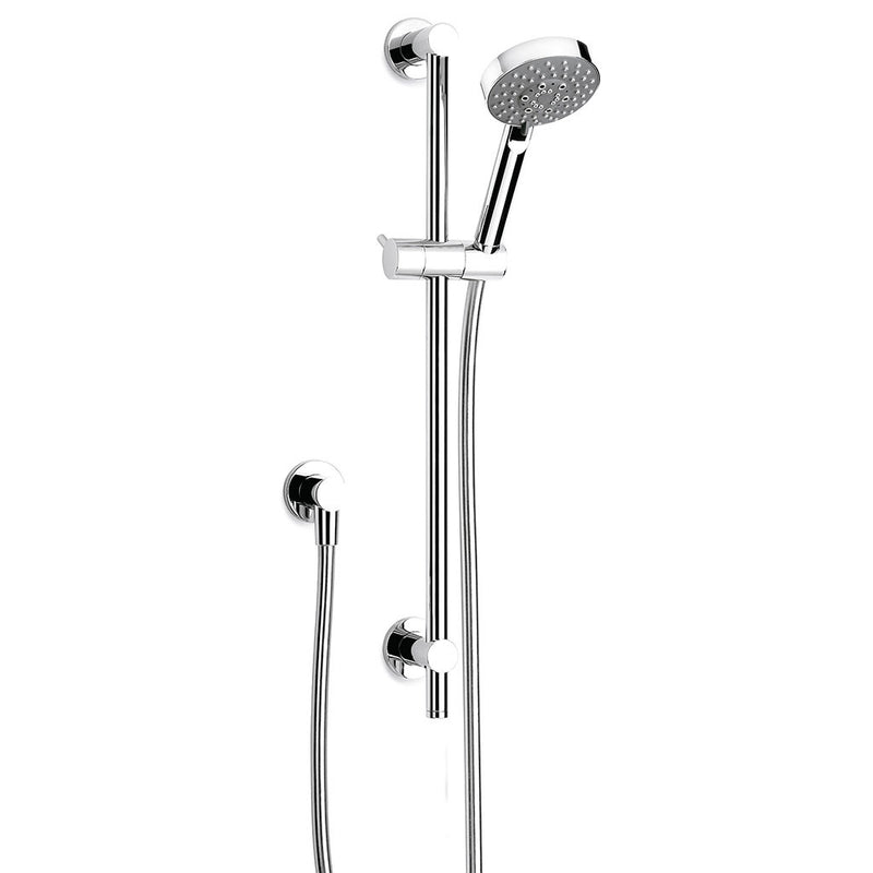 Pegasi Slide Shower, Adjust 600, 100disc Chrome