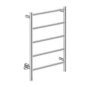 Natural 5 Bar 500 Straight Heated Towel Rail