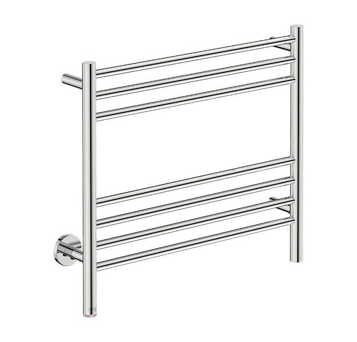 Natural 7 Bar 500 Straight Heated Towel Rail
