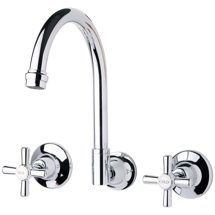 Festival Wall Sink Set (Chrome)