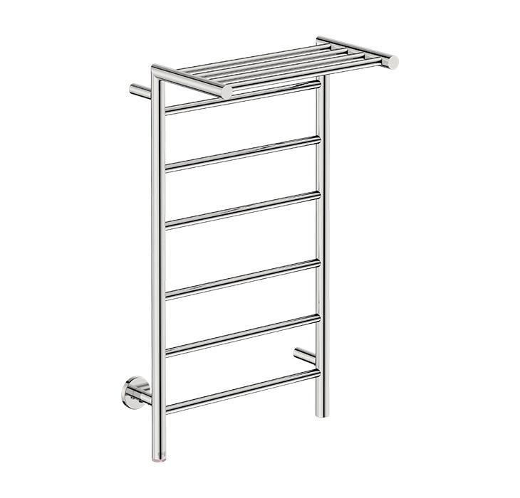 Edge 10 Bar 500 Straight Heated Towel Rail