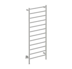 Natural 12 Bar 500 Straight Heated Towel Rail