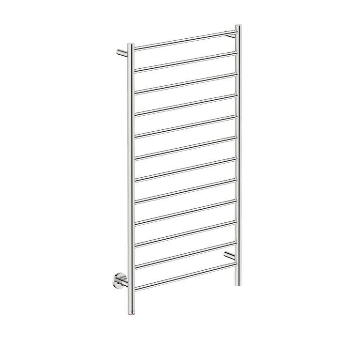 Natural 12 Bar 650 Straight Heated Towel Rail