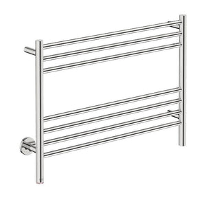 Natural 7 Bar 800 Straight Heated Towel Rail