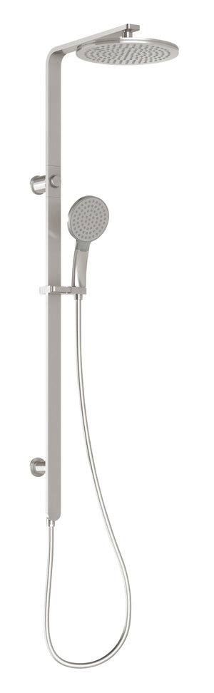 NX QUIL TWIN SHOWER (Brushed Nickel)