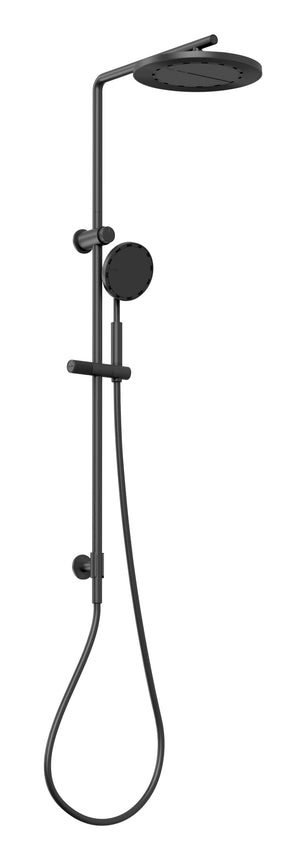 NX Iko Twin Shower with Hydrosense (Matte Black)