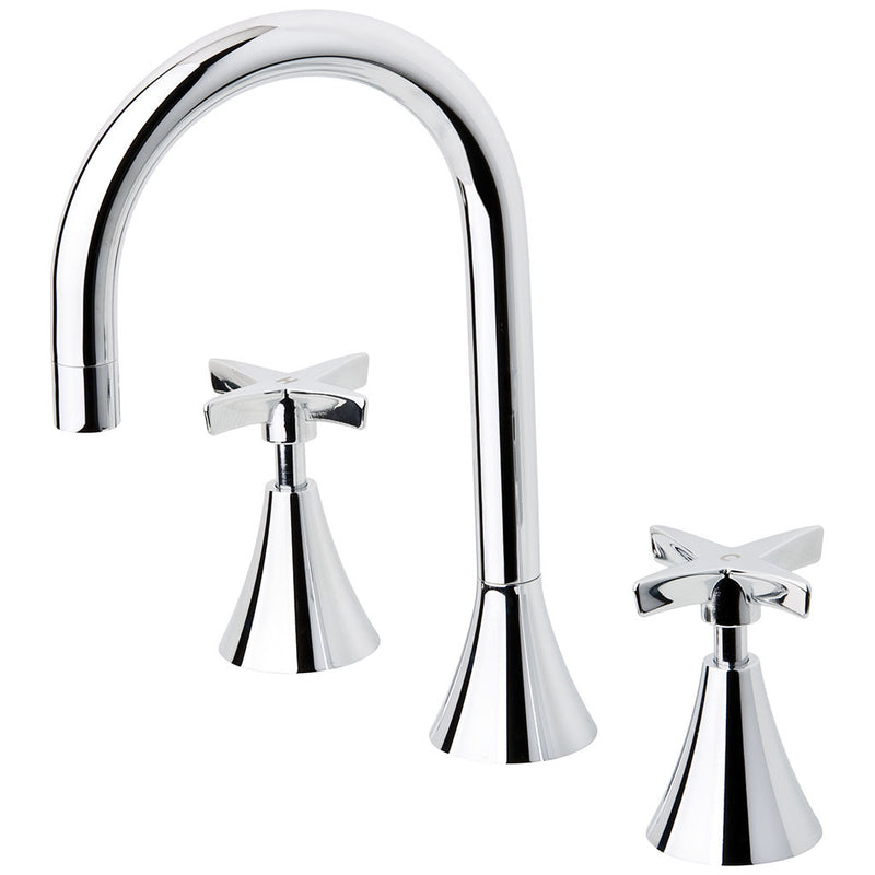 Phoenix Tapware Wave Basin Set (Chrome) 7800CHR