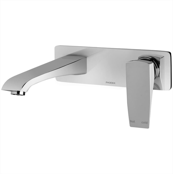 Argo Wall Basin Set (Chrome)