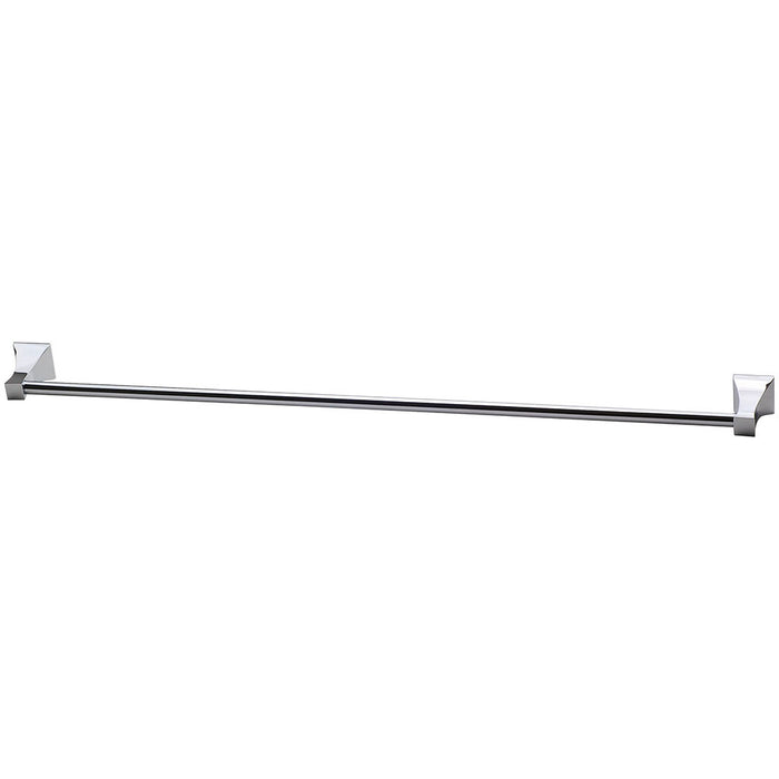 Argo Single Towel Rail 760mm (Chrome)