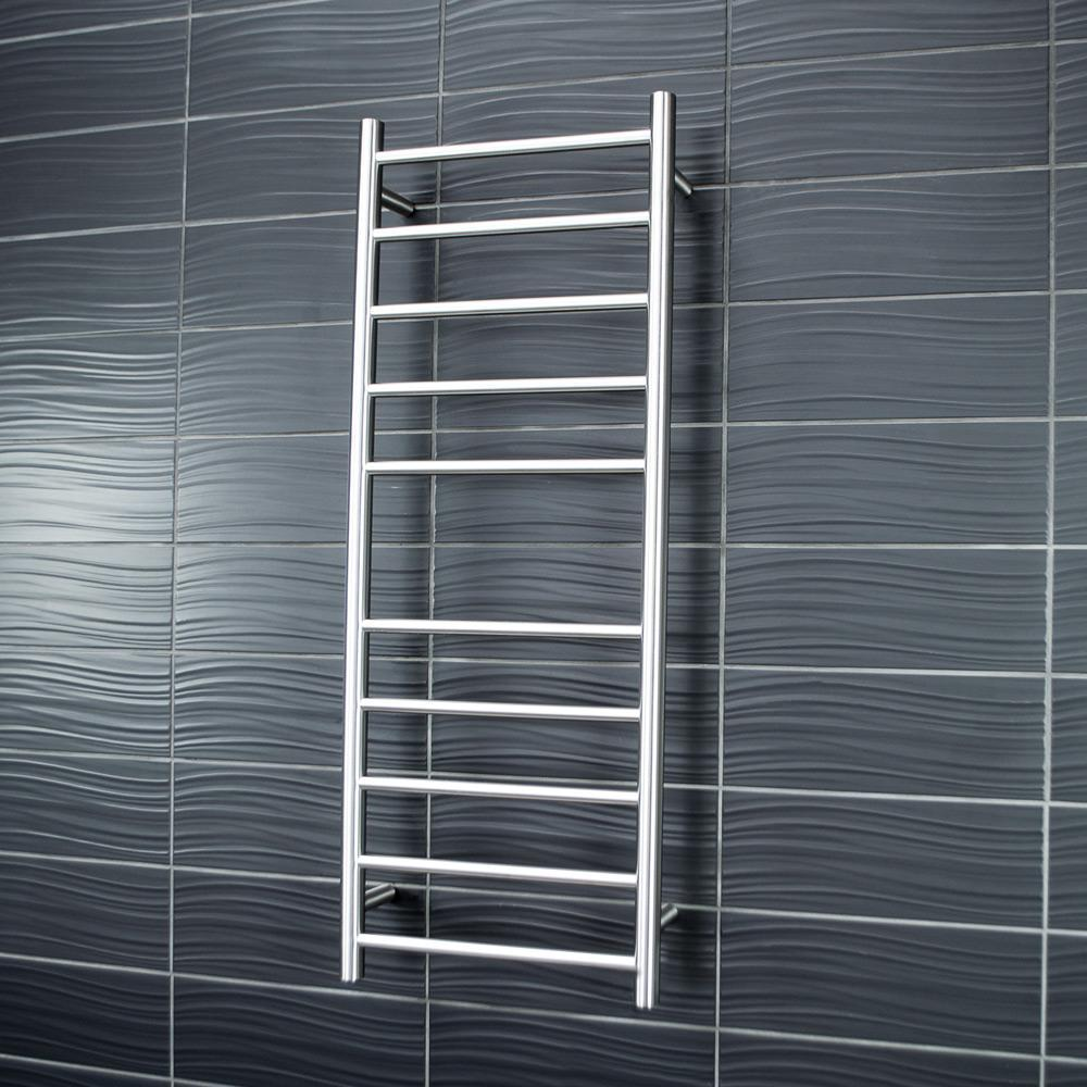 Heated Towel Rails Tagged Quot Finish Brushed Satin