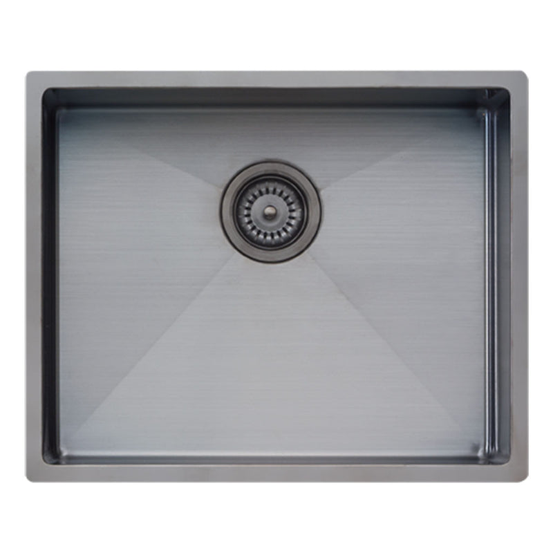 Oliveri Spectra Single Bowl Sink (Gun Metal) CS01GM