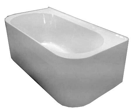 Vernazza D Shape Freestanding Bath